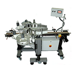 Automatic labeling system for front and back applications