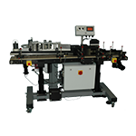 Automatic wrap on labeling system