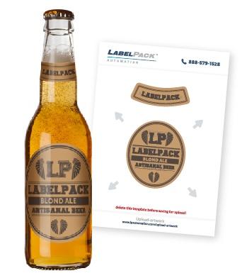 Beer Bottle Label Templates Bottle Labeling - Beer bottle label template